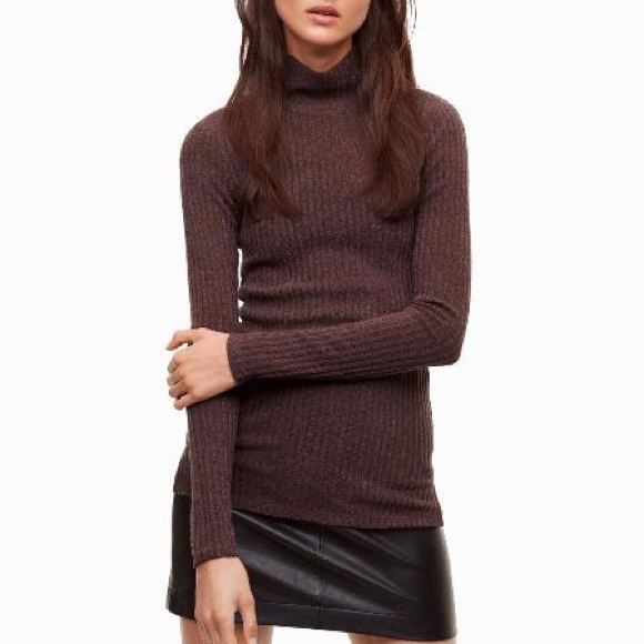 WILFRED FREE | NWT Buswell Long Sleeve Turtleneck